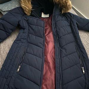 Tommy Hilfiger knee length Puffer Jacket. Size S.